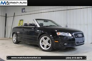 *Safetied* 2007 Audi A4 2.0T *Convertible* *AWD*LowKM*