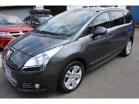 LHD Peugeot 5008 2.0HDI 150BHP 6 Speed Manual Exclusive UK REGISTERED
