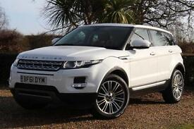 WHITE Land Rover Range Rover Evoque 2.2 SD4 2012 Prestige Manual Diesel