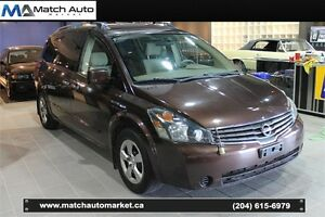 *Safetied* 2007 Nissan Quest S *DVD* *Overhead Monitors*
