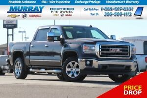 2015 GMC Sierra 1500 SLT*SUNROOF,REMOTE START,HEATED SEATS*