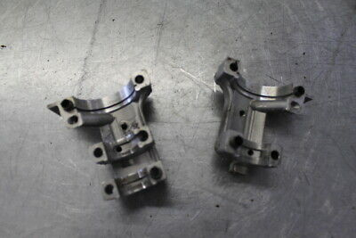 00 YAMAHA WR 400 F INTAKE EXHAUST CAMSHAFT CAM SHAFT JOURNAL CAPS HOLDERS #21038