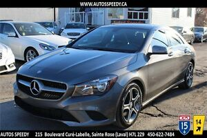 2014 MERCEDES CLA 250 4MATIC29.928 KM, CAMERA, TOIT, GARANTIE