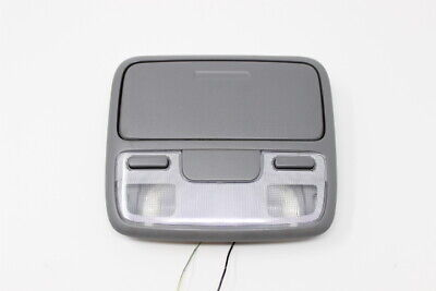 1998 - 2002 HONDA ACCORD LX OVERHEAD CONSOLE DOMELIGHT GRAY STORAGE OEM TESTED ()