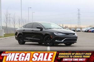 2015 Chrysler 200 Limited V6| Pwr Heat Seat| Fog Lamp| 17 Rim| B