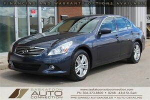 2013 INFINITI G37x AWD ** MOONROOF ** REVERSE CAM ** BOSE AUDIO