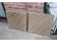 Designer Slabs x 4, my left overs from project, cost £ 40 each 10 years ago