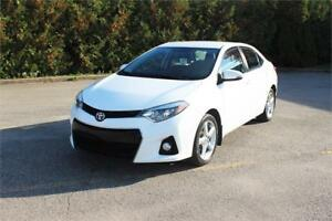 Toyota Corolla 2015 S *Cuir + Mags + Camera* Clean Carproof