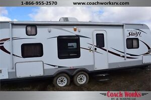 2014 Jayco Jay Flight Swift 264BH CERTIFIED PRE-OWNED Call Mike