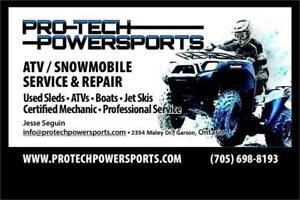 Pro-Tech Powersports - Service, Repair & Tune Up's - All Makes!
