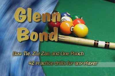 2 Pool Billiards DVD's 42 Drills + PDF book + Spin To Win English Two DVD Set