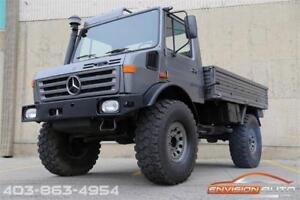 1987 MERCEDES-BENZ UNIMOG 435 U1300L 4X4 \ OM366A TURBO
