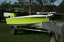 4.3m Savage boat, trailer, 50 Tohatsu, Minn Kota Caboolture Caboolture Area Preview
