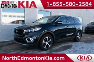 2016 Kia Sorento 3.3L EX+ **LEATHER/SUNROOF**