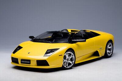 Lamborghini Murcielago Roadster - Yellow - 1/12 Diecast AUTOart 12081 BBR