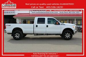2014 Ford Super Duty F-350 XLT 4x4 70650 KMS! $29900