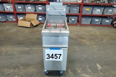 3457 Vulcan Deep Fryer Natural Gas 35-40 Lb Oil Capacity Model 1gr35m-1