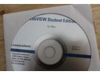 LabView 8.2 Student Ed Mac/Macintosh OS