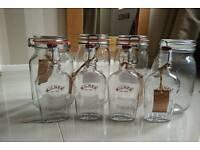 Kilner preserve bottles & jars