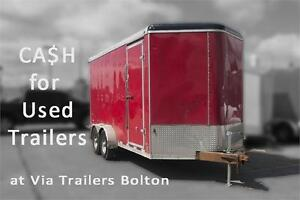 2010 Stealth Trailers Cash for your USED trailer. TRADE IT IN!
