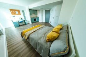 STUDENT ROOM TO RENT IN NOTTINGHAM. PREMIUM STUDIOS WITH PRIVATE ROOM, PRIVATE KITCHEN AND BATHROOM