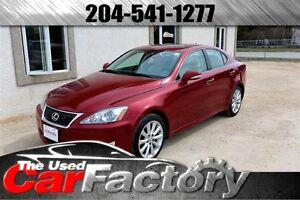 2009 Lexus IS 250 AWD/SUNROOF/LEATHER