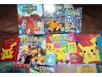 LARGE SELECTION OF POKEMON BOOKS ETC ( SEE PICS )