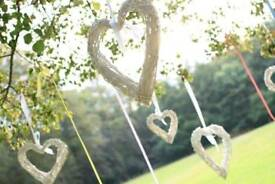 Willow hearts-wedding decoration
