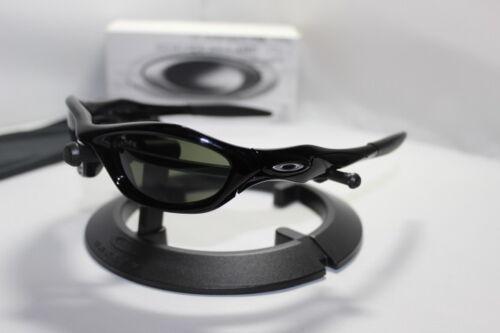 New Oakley Unknown Sunglasses Polished Black/Dark Grey 30-658