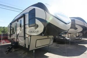New Cougar 5th Wheel 1.99% Financing