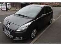 LHD 2011 Peugeot 5008 2.0HDi ( 163bhp ) FAP Auto Exclusive FRENCH REGISTERED
