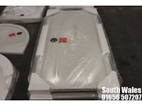 BRAND NEW PEARLSTONE RECTANGULAR 1500 X 760MM SHOWER TRAY PERFECT CONDITION £85