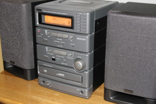 Denon D-C1 Micro Component System Audio System in original box, with remote
