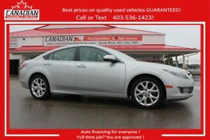 2009 Mazda Mazda6 GT LOADED,ACCIDENT FREE$94.50/SEMI-MONTHLY OAC