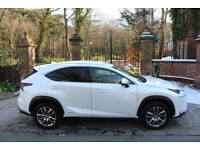 2015 LEXUS NX 300h 2.5 4WD E-CVT LUXURY 33,306 MILES 1 PREV OWN FSH SAT NAV