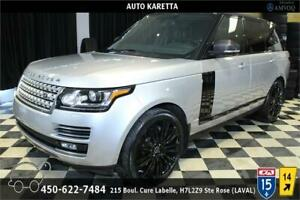 2013 Land Rover Range Rover SUPERCHARGED LUXURY, DVD, NAVI, XENO