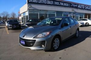 2012 Mazda Mazda3 GT LEATHER ROOF CERTIFIED WARRANTY AVAILABLE