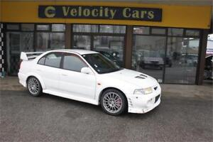 2000 Mitsubishi Lancer Evolution VI GSR 136K's AWD Turbo 276hp M