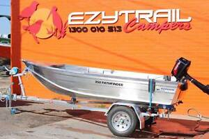 Horizon 350 Pathfinder Boat, 5HP Tohatsu Motor FREE REGO Capital Hill South Canberra Preview
