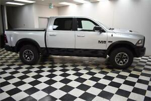 2017 RAM 1500 REBEL CREW 4X4- LEATHER*NAVI*BLUETOOTH