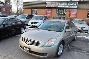 2007 Nissan Altima 2.5 S - Certified - Tested Drives Great!