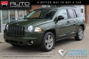 2008 Jeep Compass 4x4 ** VERY LOW KM ** NEW TIRES **