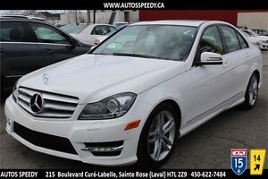 2013 MERCEDES C300 4MATIC, XENON, PARKING SENSOR, CLEAN CARPROOF