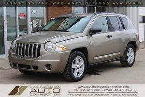 2007 Jeep Compass 4x4 ** LOW KM ** NEW TIRES ** HEATED SEATS **