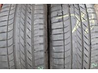 255 50 19 Goodyear Eagle BMW X5 Runflat Tyres, Good Condition Part Worn Used, 285/45,55/18,315/35/20