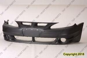 Bumper Front Primed Gt Models PONTIAC GRAND AM 1995-2005