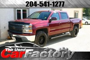 2015 Chevrolet Silverado 1500 4X4 CREW CAB NEW TIRES AND RIMS