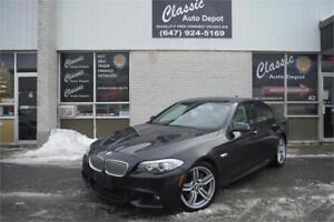 2011 BMW 550 **6 SPEED**NAVIGATION**VERY RARE CAR**M-PACKAGE**