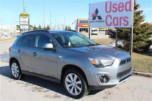 2015  MITSUBISHI  RVR  SE AWC *WARRANTY *GREAT ON GAS