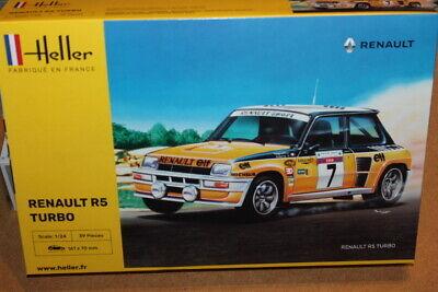 NEW Heller (80717): Renault R5 Turbo au 1/24